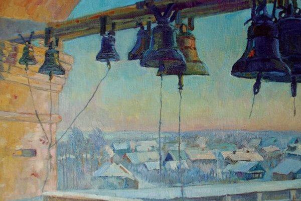 Картинка к сказке Старый церковный колокол