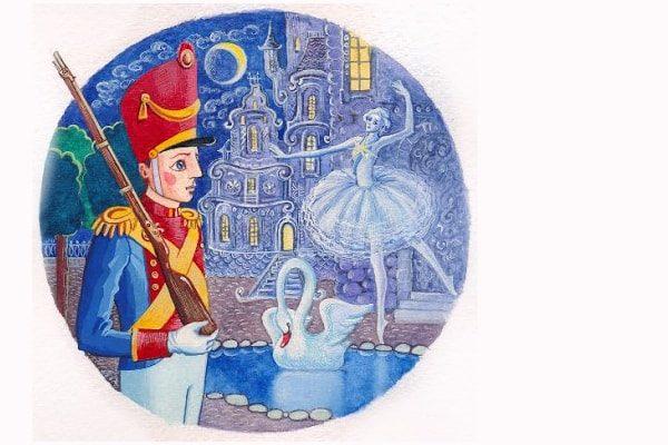 Картинка к сказке Стойкий оловянный солдатик