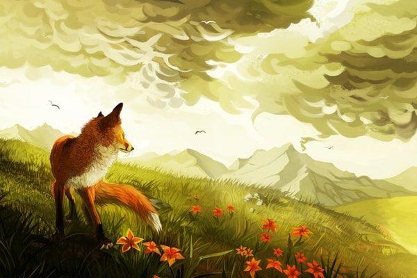 Картинка к сказке Свадьба госпожи лисицы