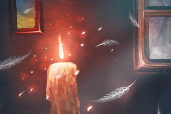 Картинка к сказке Свечи