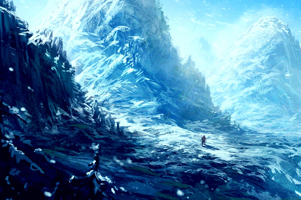 Картинка к сказке Тайна горы