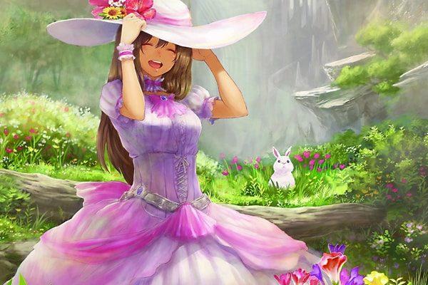 Картинка к сказке Цветы маленькой Иды