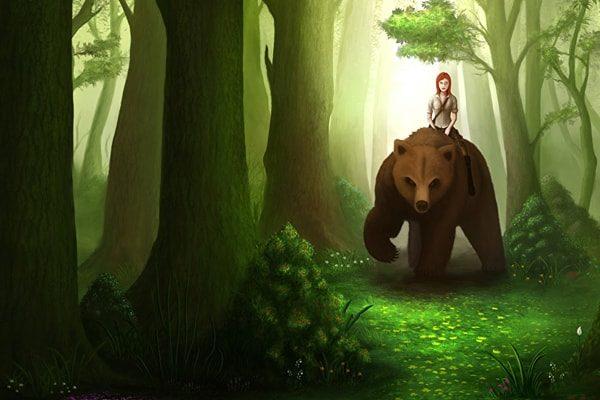 Картинка к сказке Белоснежка и Алоцветик
