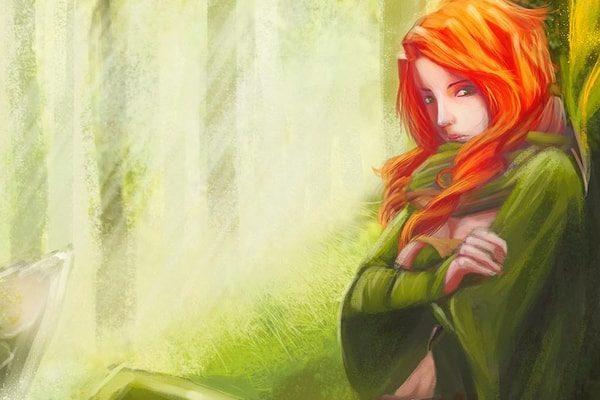 Картинка к сказке Девушка-безручка
