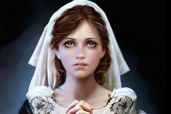 Картинка к сказке Девушка из Бракеля