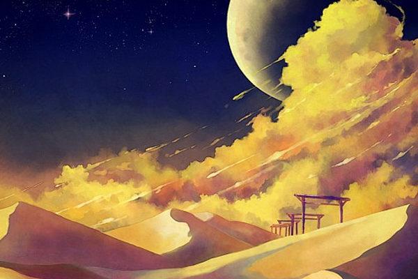 Картинка к сказке Дом в пустыне