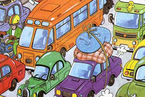 Картинка к сказке Дудочник и автомобили