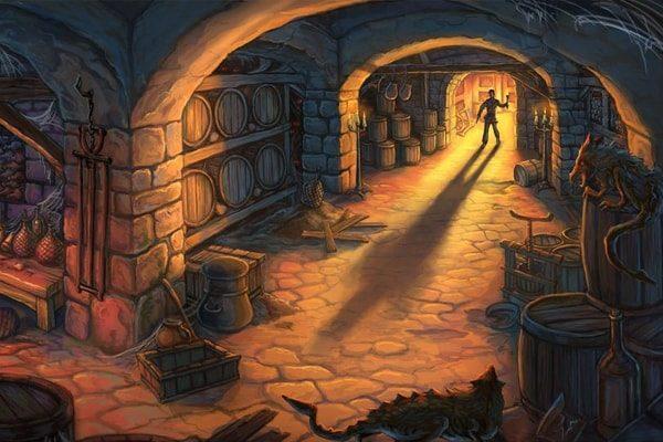 Картинка к сказке Фантасмагории в бременском винном погребке