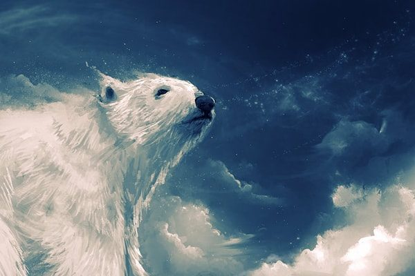 Картинка к сказке Фиалка на Северном полюсе