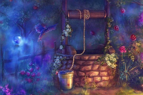 Картинка к сказке Госпожа Метелица