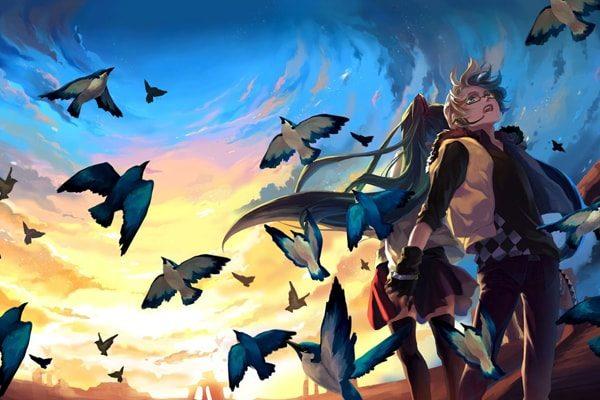 Картинка к сказке Йоринда и Йорингель