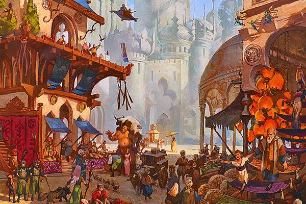 Картинка к сказке Как один человек купил город Стокгольм