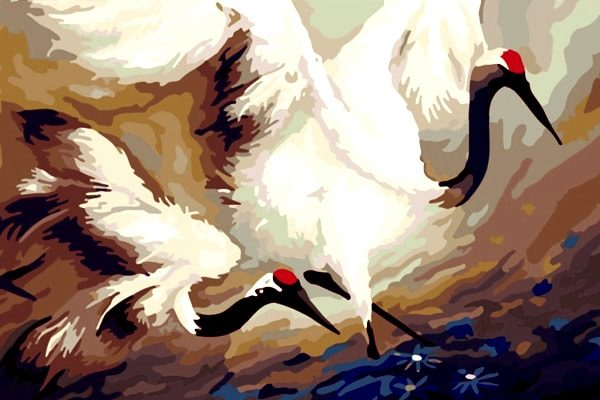 Картинка к сказке Калиф-аист