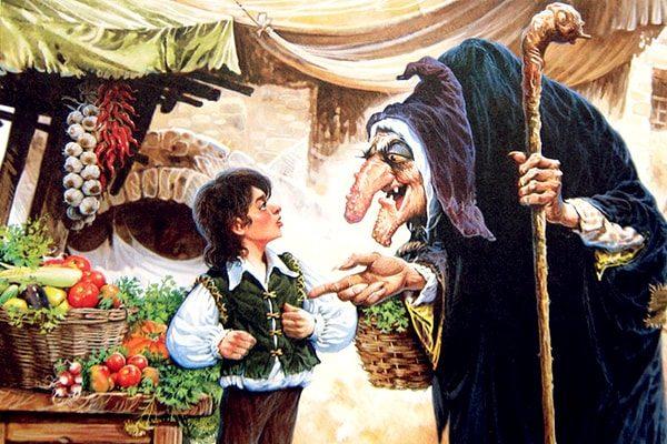 Картинка к сказке Карлик Нос