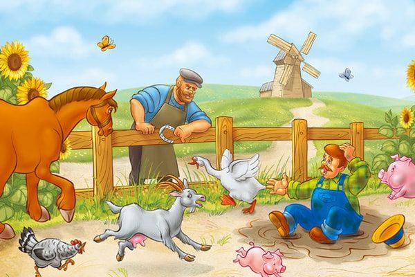 Картинка к сказке Кнойст и трое его сыновей