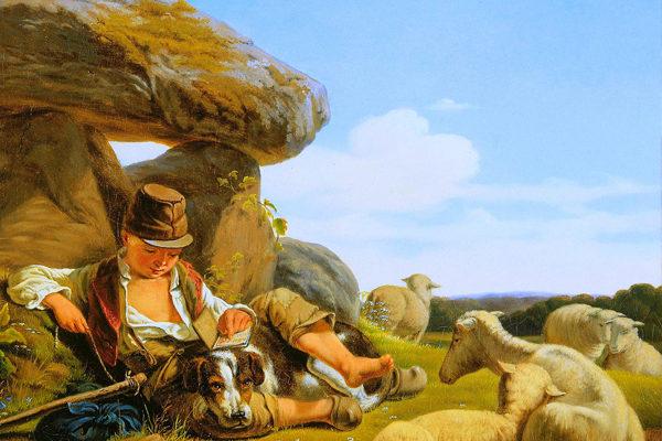 Картинка к сказке Кольцо пастуха