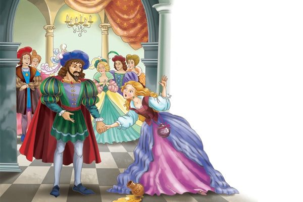 Картинка к сказке Король Дроздобород