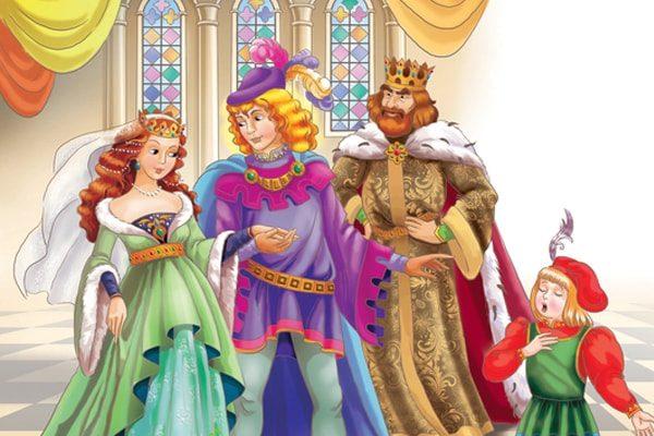Картинка к сказке Король-Дроздовик