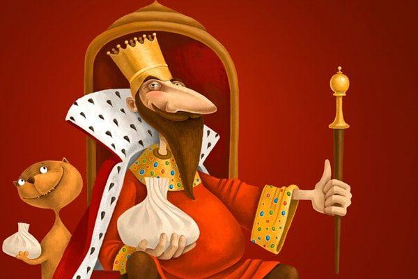 Картинка к сказке Король, который должен был умереть