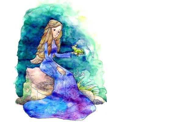 Картинка к сказке Король-лягушонок или Железный Генрих