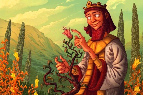 Картинка к сказке Король Мидас