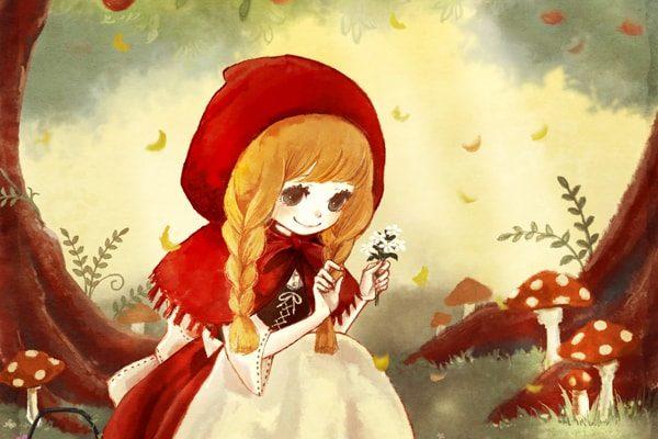 Картинка к сказке Красная Шапочка