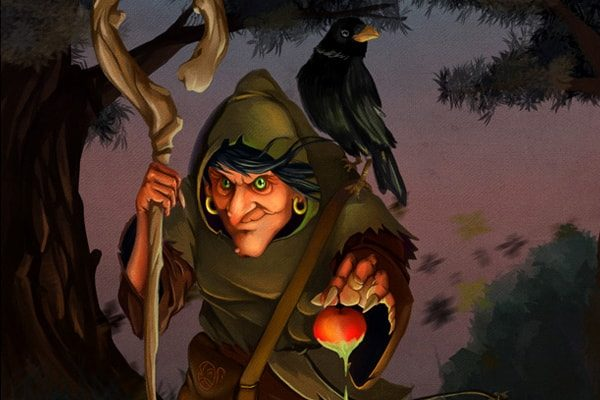 Картинка к сказке Лесная старуха