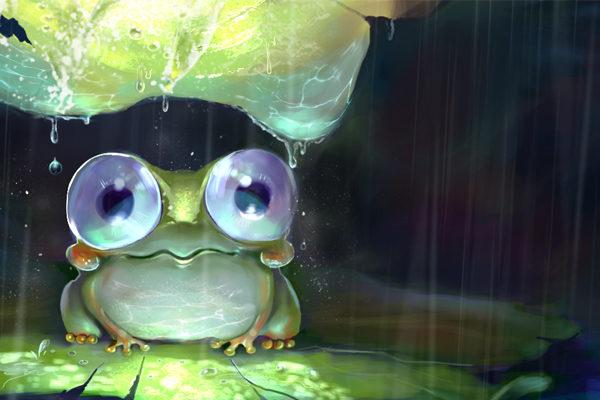 Картинка к сказке Лягушка-путешественница