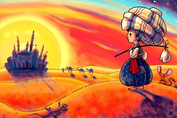 Картинка к сказке Маленький Мук