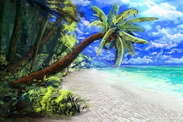 Картинка к сказке На пляже в Остии
