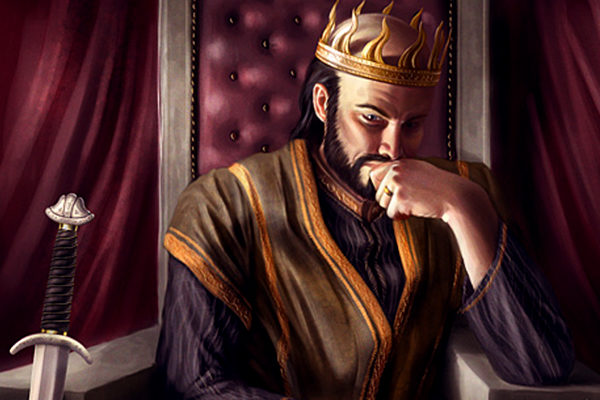 Картинка к сказке О гордом Аггее