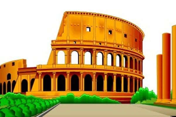 Картинка к сказке Про человека, который хотел украсть Колизей