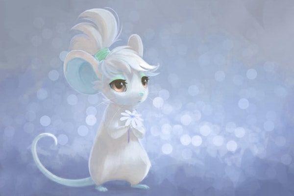 Картинка к сказке Про мышь, которая ела кошек