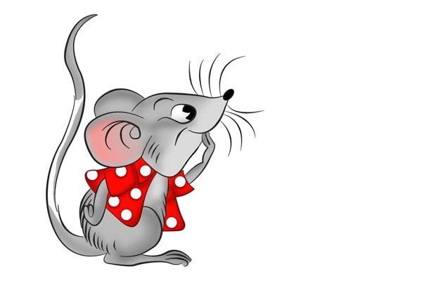 Картинка к сказке Про мышонка из книжонки