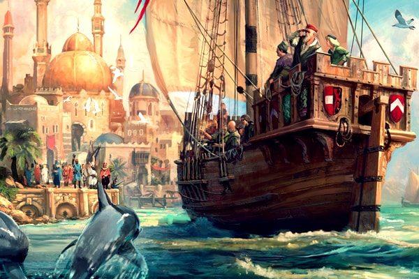 Картинка к сказке Рассказ о корабле привидений
