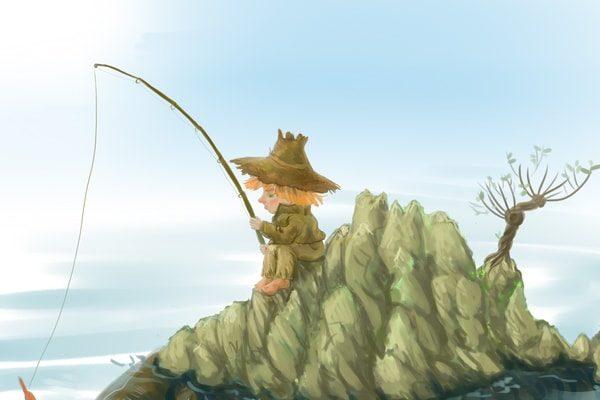 Картинка к сказке Рыбак из Чефалу