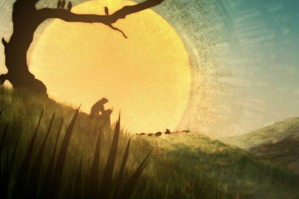 Картинка к сказке Солнце и туча