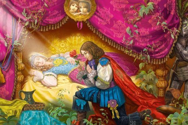 Картинка к сказке Спящая царевна