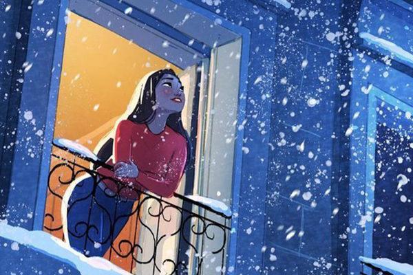 Картинка к сказке Женщина, которая считала «апчхи!»