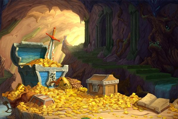 Картинка к сказке Зимели-гора