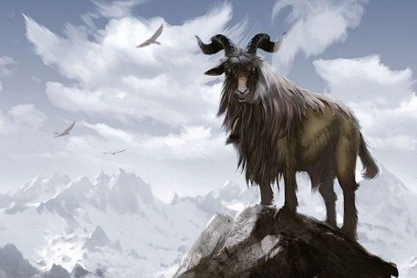 Картинка к сказке Звери Господни и чертовы звери