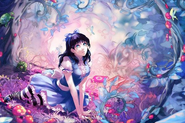 Картинка к сказке Алиса в стране чудес