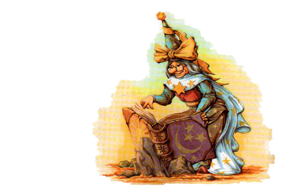 Картинка к сказке Волшебный барабан