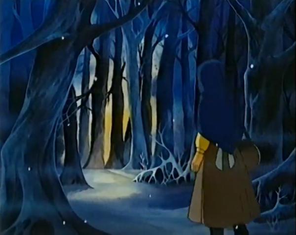 Двенадцать месяцев, свет в лесу